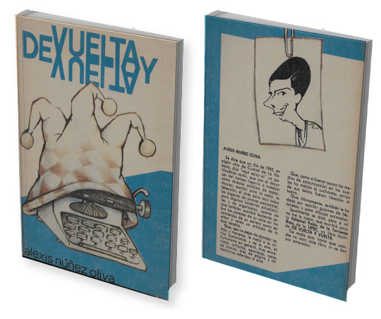 Portada y contraportada del libro «De Vuelta y Vuelta»