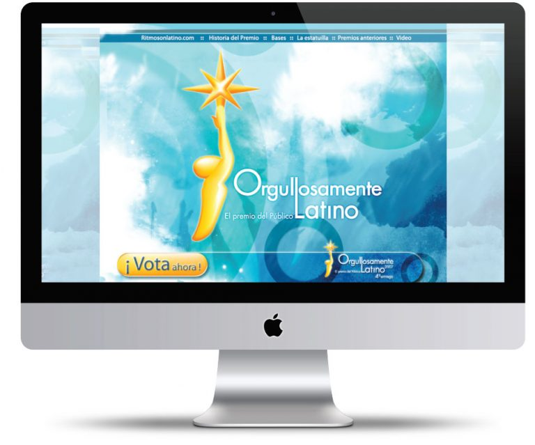 Sitio web de Orgullosamente Latino, El Premio del Público